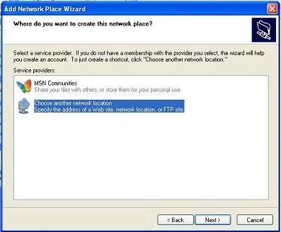 add network place WebDAV - vBoxxCloud