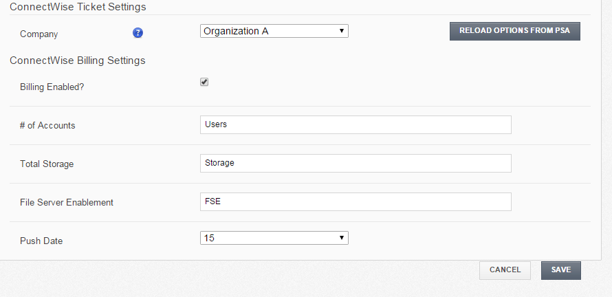 Integrating vBoxxCloud with ConnectWise - 13