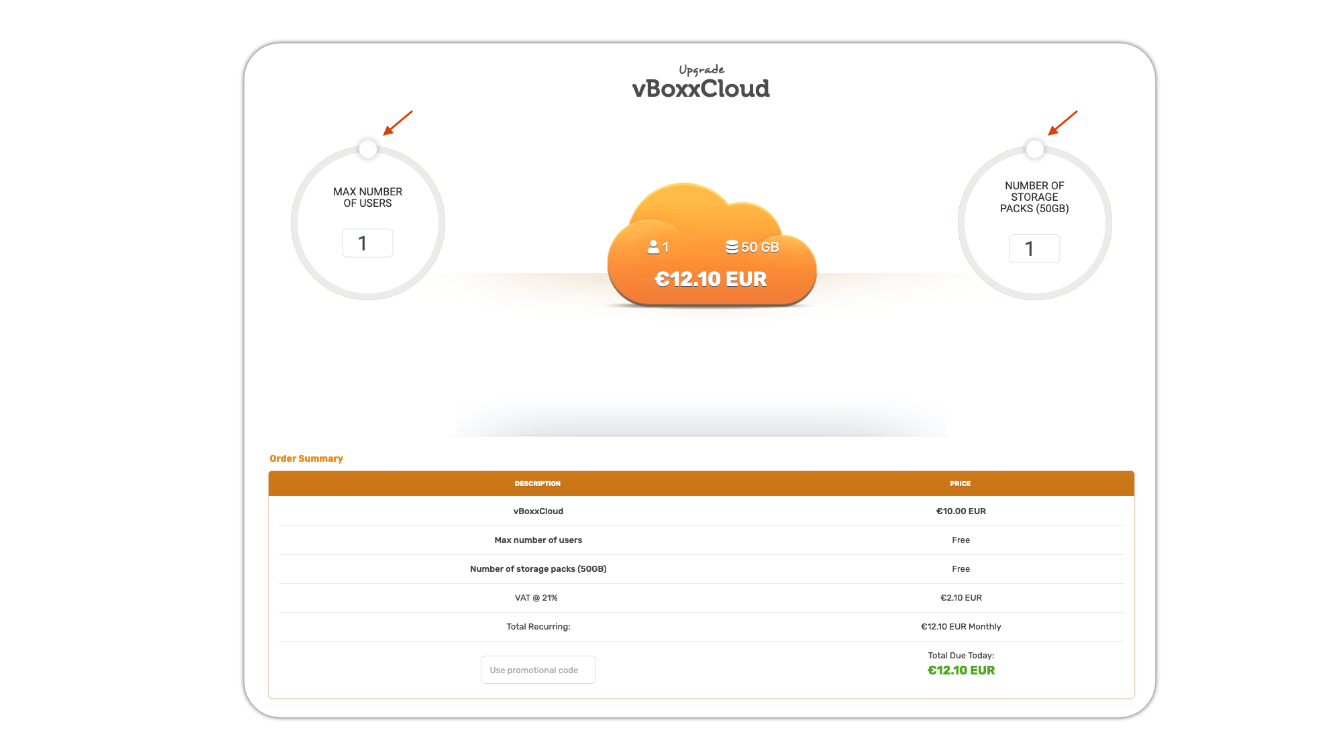 upgrade vboxxcloud