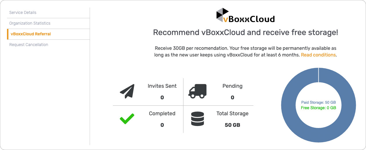 vBoxxCloud Referral