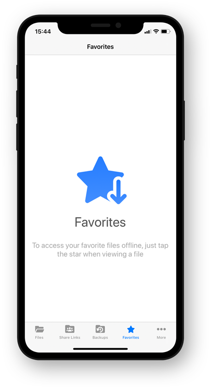 download files - vboxxcloud app