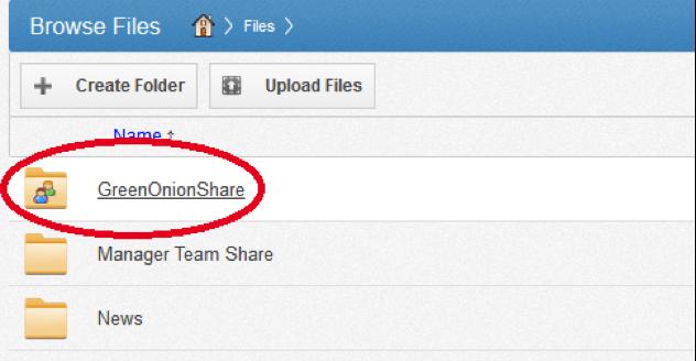 team share vanaf web browser - vBoxxCloud